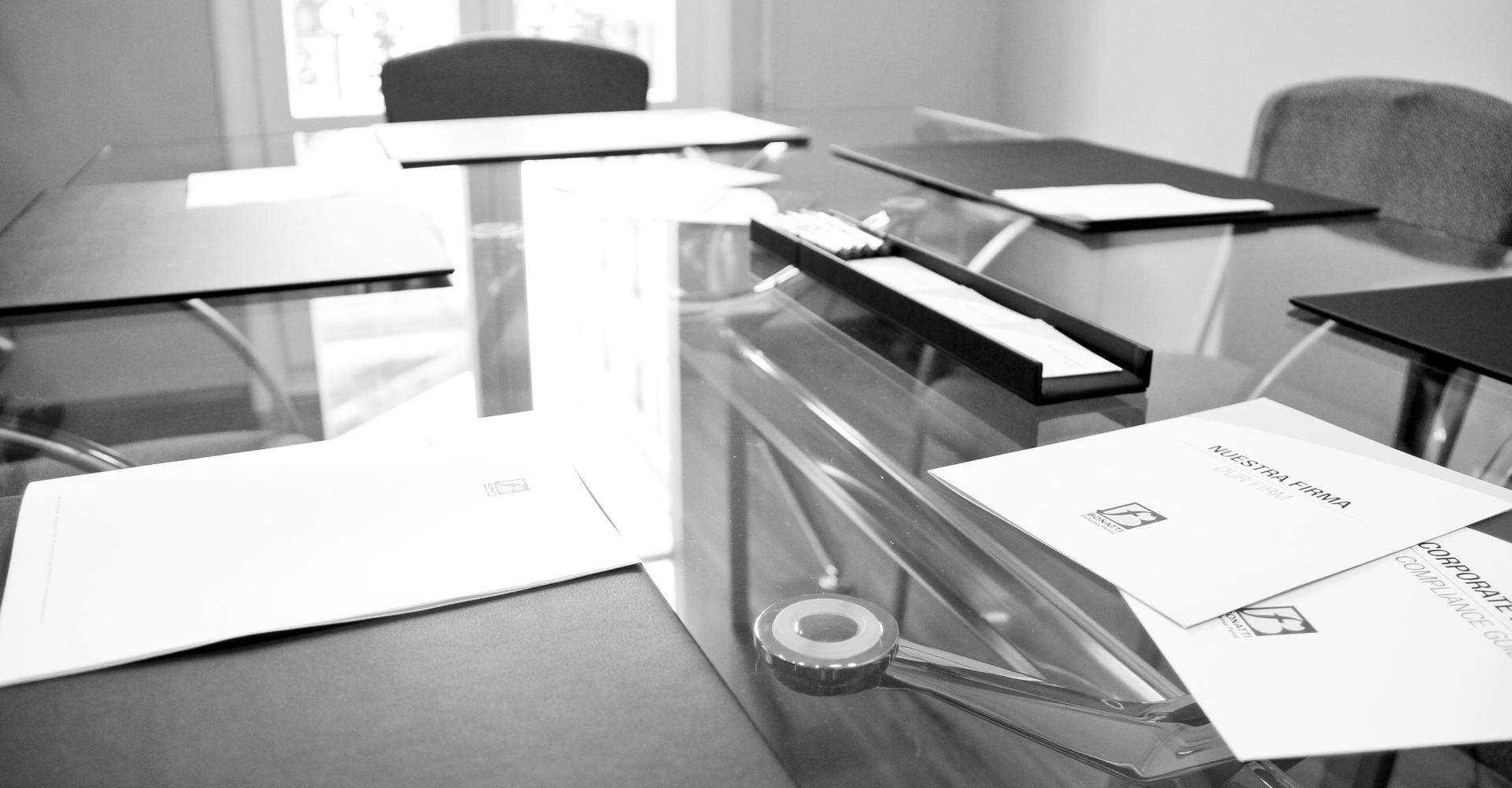 Bonatti Defensa Penal & Compliance Oficina Barcelona - Sala de reuniones