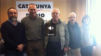 """Francisco Bonnati participa en la tertulia sobre Corrupción en el Programa guiado por Silvia Cóppulo """"El suplement"""" de Catalunya Radio. (7 Diciembre 2014 )"""