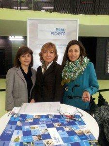 Argèlia García, Mercè Miguel y Salvi Richart