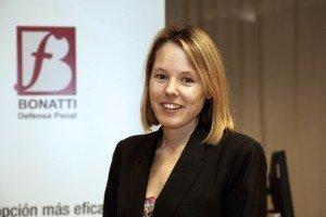 Margarita García Sartorio, responsable del área  procesal de BONATTI PENAL & COMPLIANCE