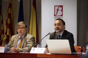 Gregorio Labatut, Presidente de Honor de INBLAC junto a Francisco Bonatti