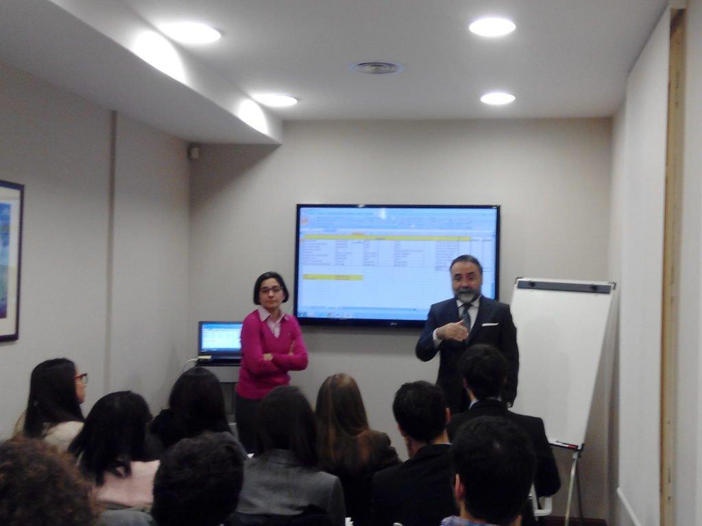 Workshop sobre Prevención de Blanqueo con los alumnos de UPF