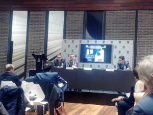 Joaquin Mena y Francisco Bonatti, ponentes en la jornada de la Cámara de Comercio de Sevilla