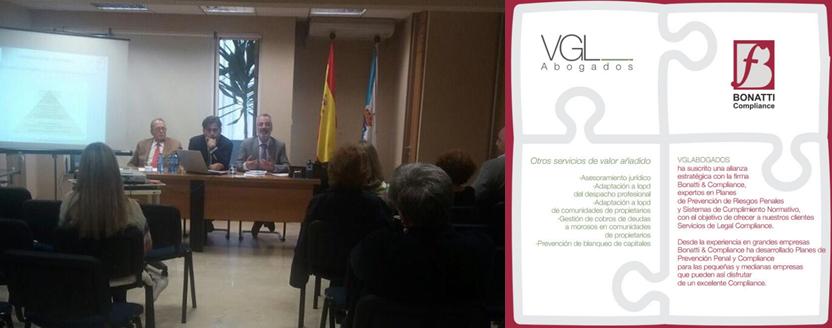 La Red Bonatti en el Ilustre Colegio Oficial de Administradores de Fincas de Galicia