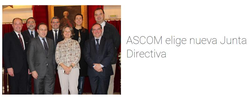 Francisco Bonatti se incorpora en la Nueva Junta Directiva de ASCOM