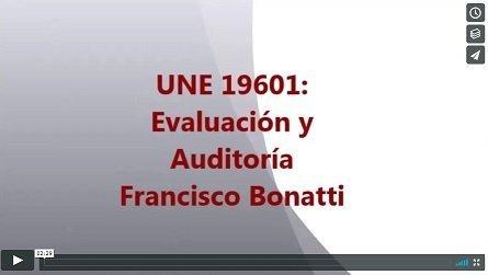 UNE 19601: Evaluación y Auditoría de Compliance