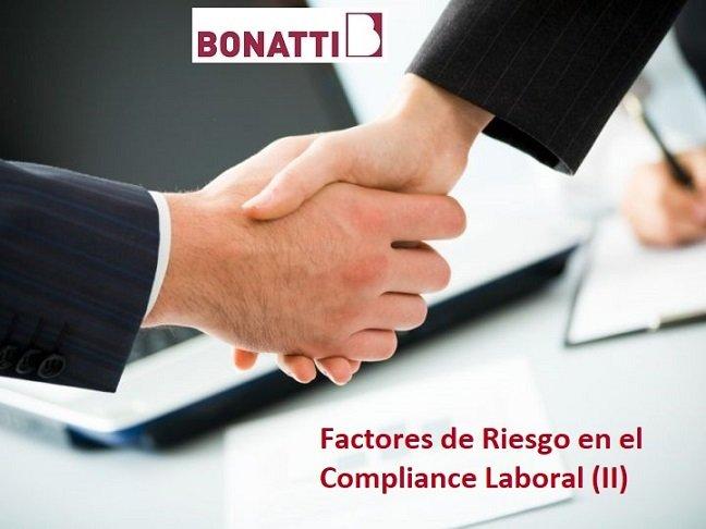 Factores de Riesgo en el Compliance Laboral (II)