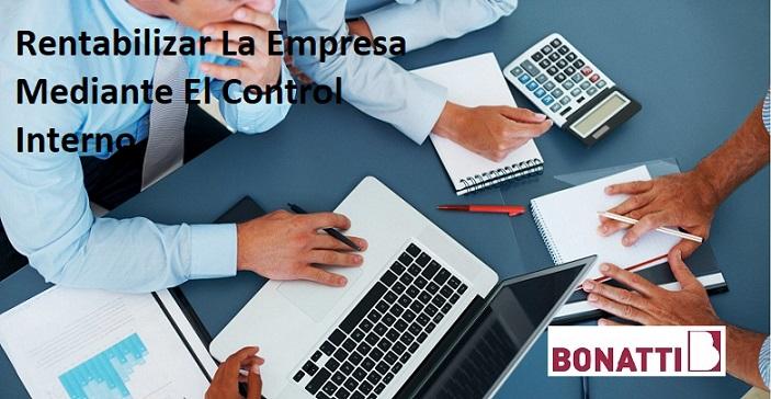 Rentabilizar La Empresa Mediante El Control Interno